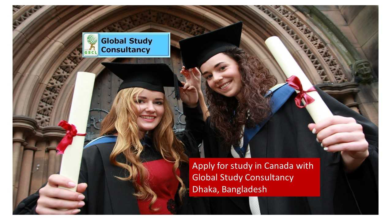 apply for study in canada with