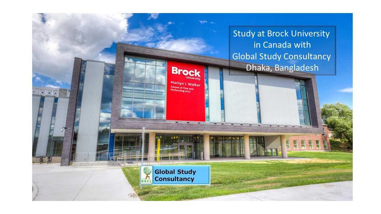 brock university admission bangladesh