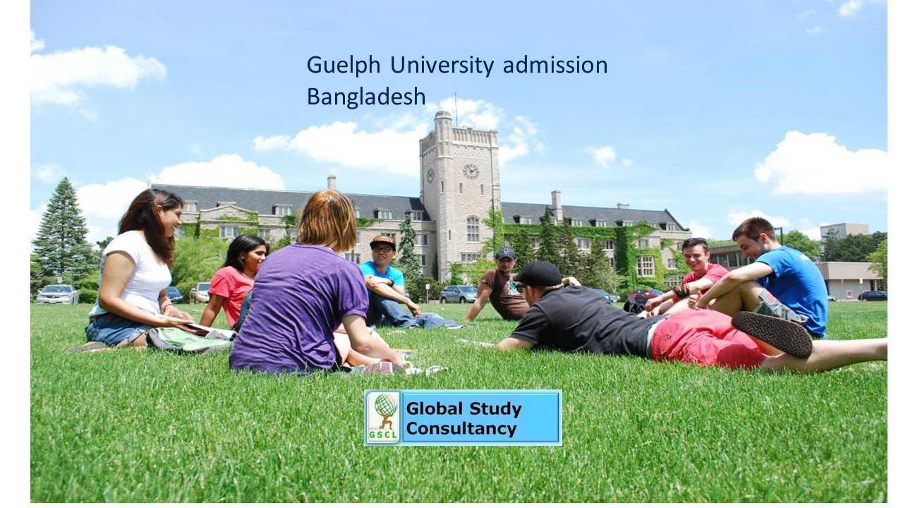 Guelph University admission Bangladesh
